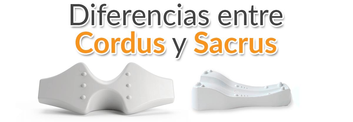 Diferencias entre Cordus y Sacrus