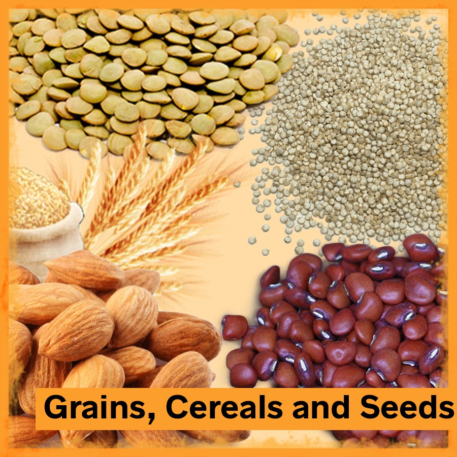 Grains, Cereals and Seeds
