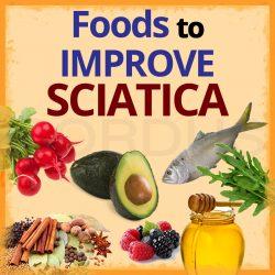 Foods to improve sciatica