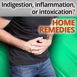 Indigestion, inflammation, or intoxication? These are the best home remedies