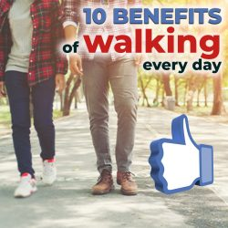 10 surprising benefits of walking every day