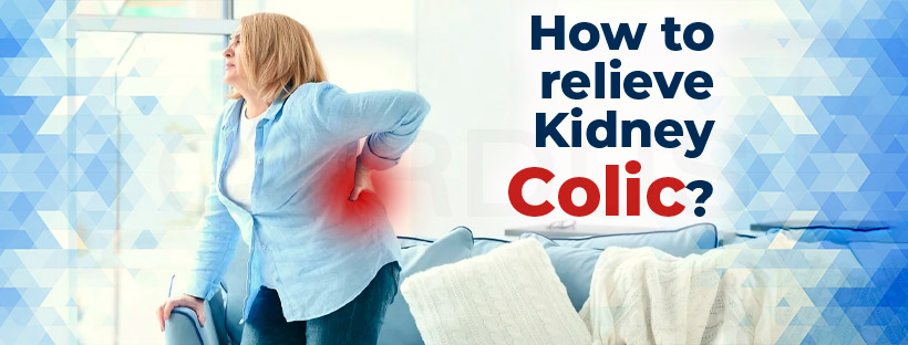 How to relieve kidney Colic?